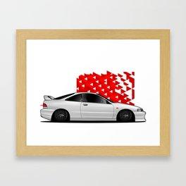 Acura Integra Framed Art Print