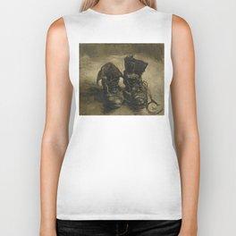 Vincent van Gogh - Boots Biker Tank