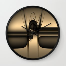 Act Including Supposed Sadness Wall Clock