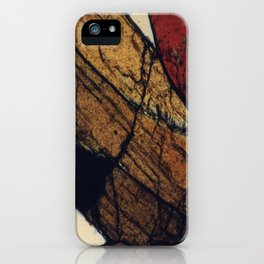 Epidote and Quartz iPhone Case