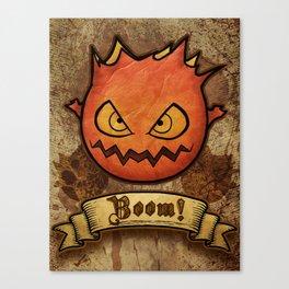 boom ! bomb Canvas Print