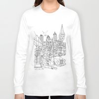 london Long Sleeve T-shirts featuring London! by David Bushell