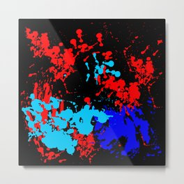 Abstract Color Art Metal Print