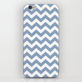 Rock Blue Safari Chevron iPhone Skin
