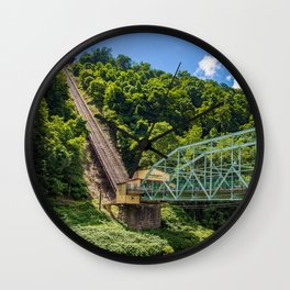 Johnstown, PA Inclined Plane Wall Clock
