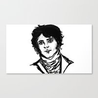 pride and prejudice Canvas Prints featuring Pride & Prejudice by Sarah Elizabeth