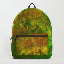 The Heart - Painting by Brian Vegas Backpack