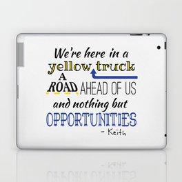What's the Rush? - Keith Laptop & iPad Skin