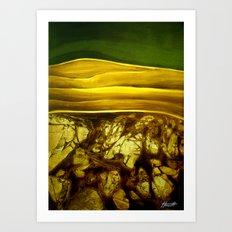 Hidden Landscape Art Print