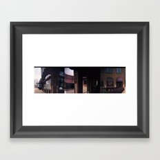 Walk on Broadway Framed Art Print