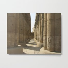 Temple of Luxor, no. 3 Metal Print