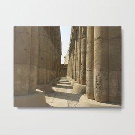 Temple of Luxor, no. 3 Metal Print
