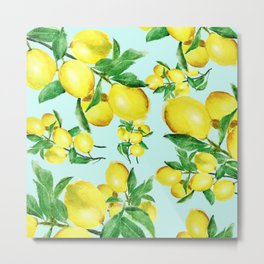 lemon 2 Metal Print