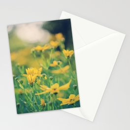 yellow is my favorite color Stationery Cards
