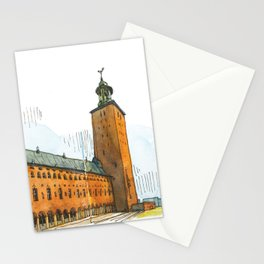 Stockholm Town Hall Stationery Cards