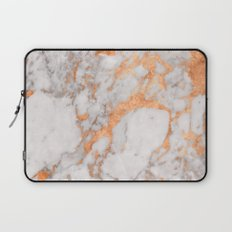 Copper Marble Laptop Sleeve