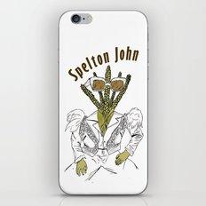 Spelton John iPhone & iPod Skin