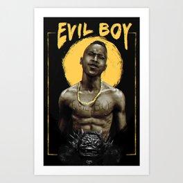 Wanga Jack - Evil Boy Art Print