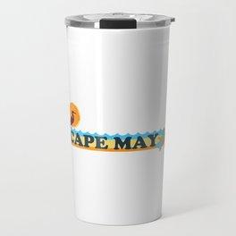 Cape May - New Jersey. Travel Mug