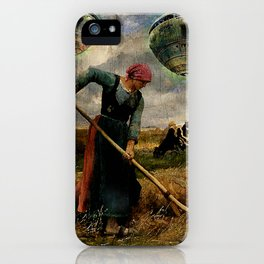 Imminent contact iPhone Case