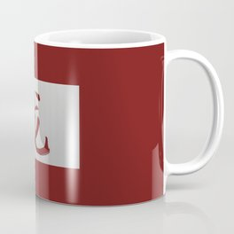 Chinese zodiac sign Dragon red Coffee Mug