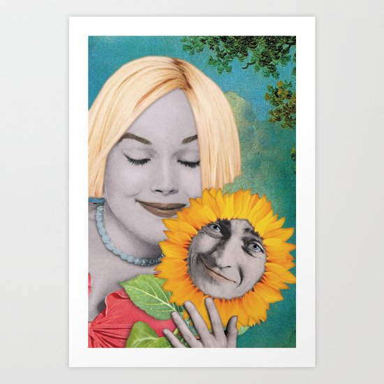 Couple Art Print