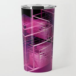 fractal cubes Travel Mug