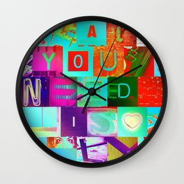 All You Need Is LOL Wall Clock