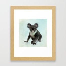 Koala Bear Digital Art Framed Art Print
