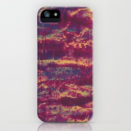 Red Blooms iPhone Case