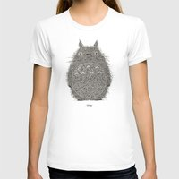 avocado T-shirts featuring Avocado Totoro by The Babybirds