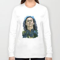 loki Long Sleeve T-shirts featuring Loki by OnaVonVerdoux
