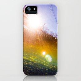 Rainbow Zizania iPhone Case