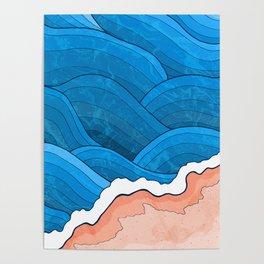 Seaside Beach Poster