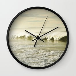 Pismo Waves Wall Clock