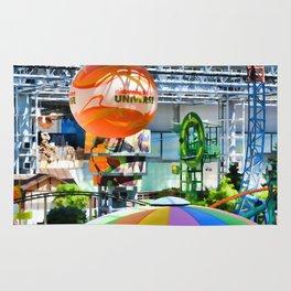 Nickelodeon Universe indoor amusement park Rug