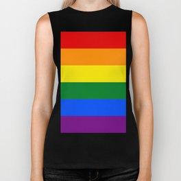 Pride Rainbow Colors Biker Tank