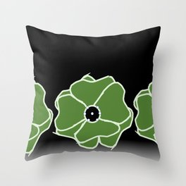 Lillies Considered Abundant Throw Pillow