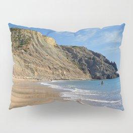 Praia da Luz, winter Pillow Sham
