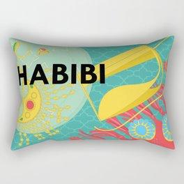 Emirati Treasures (English Habibi) Rectangular Pillow