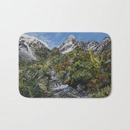 Mt Cook, New Zealand Bath Mat