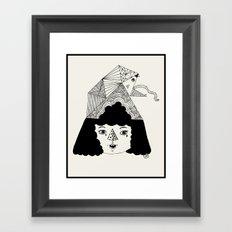 rainbowkitekidssnake Framed Art Print