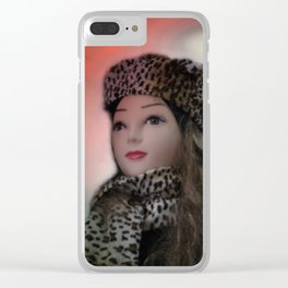 showcased -14- Clear iPhone Case