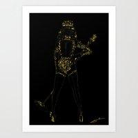 "King B - ""Diamond Edition"" Art Print"