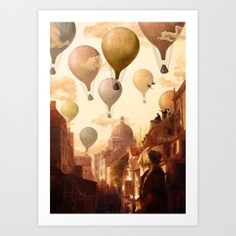 Voyage to the Unkown Art Print