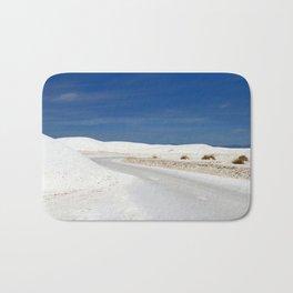 White Sand Reaches Up To The Horizon Bath Mat