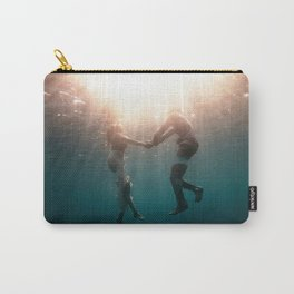 Breaking Up-Surreal Couple in the Ocean Carry-All Pouch