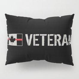 Canadian Firefighter Veteran Pillow Sham
