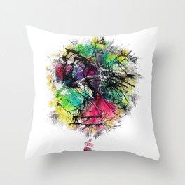 #NewMexicoTRUE Balloon Throw Pillow