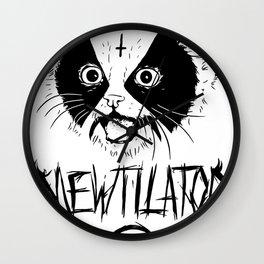 Mewtilator Wall Clock